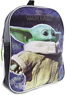 "Star Wars""The Child"" Baby Yoda 11 英寸半月背包 灰色 标准"