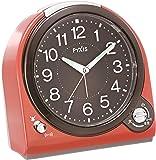 SEIKO 时钟 闹钟 模拟 切换式 闹钟 PYXIS PIXIS SEIKO 红色 NQ705R