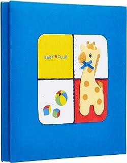 NCL nakabayashi日本制超精致自粘DIY相册宝宝成长册LB-532-B(蓝色)