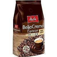 Melitta 美乐家 咖啡全豆 纯阿拉比卡,浓郁,强度4-5,BellaCrema Espresso(意式浓缩咖啡…