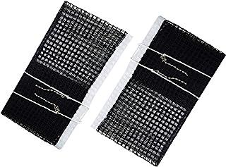 Comesee 乒乓球网替换件,张力链乒乓球网适用于任何桌子 152.4 至 182.88 厘米,2 件装*蓝