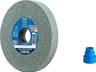 PFERD 砂轮,150 x 20 x 32,规格CARBIDE,颗粒尺寸 60,碳硅,39008570 – 用于处理硬材料,内置减速套筒(25/20/16 毫米)