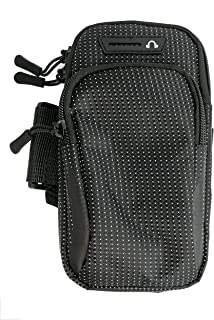 System-S 中性 - 成人黑色包保护套公文包户外慢跑智能手机 MP3 播放器,标准