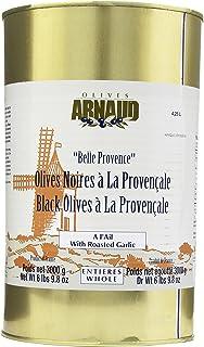 Arnaud Black Olives with Garlic, 6 lbs 9.8 oz