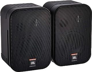 JBL PROFESSIONAL 遥控器1Pro 用宽频带小型音箱一对, 黑