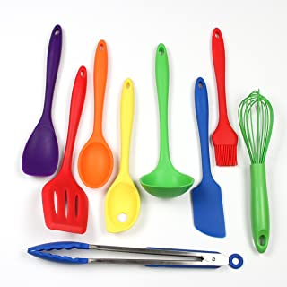 Chef Craft 硅胶厨房工具和餐具9件套