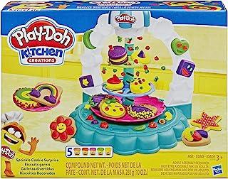 Play-Doh E5109EU4 饼干 - 胡萝卜,黏土适用于充满想象力和创造性的游戏,多色