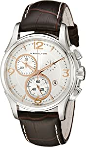 Hamilton 男士 H32612555 Jazzmaster 计时器 银色表盘腕表