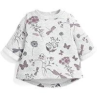 Mamas & Papas 女宝宝印花毛衣-灰色运动衫