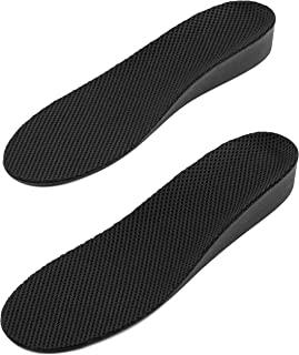 增高鞋垫 - 透气舒适增高全长男鞋内底 - 2.54cm 高 6.5 to 11.5