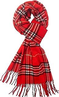 Calvia 羊绒手感围巾 - 超柔软温暖冬天 - 男女皆宜