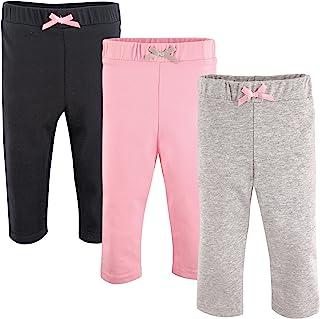 Luvable Friends 婴儿女童打底裤3个装