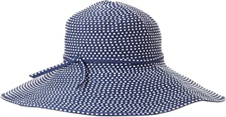 San Diego Hat Company 女式丝带编织帽,带五英寸帽檐