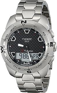 TISSOT 天梭 瑞士品牌 T-TOUCH触摸多功能系列石英手表 男士碗表  T013.420.44.201.00