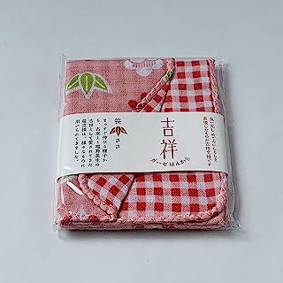 Hakoro 吉祥纱布手帕 笹 No.80625