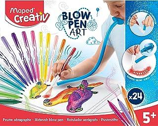 Maped Creativ Blow Art - 毛毡笔艺术套装,846712