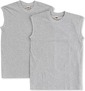 GUNZE 郡是 男士 打底衫 G.T.HAWKINS 棉100% 冲浪衫 2件装 HK10182