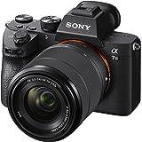 Sony 索尼 a7 III(ILCEM3K/B)全框无反光可交换镜头相机,带28-70毫米镜头,带3英寸液晶显示屏,黑…