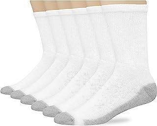 Hanes 男式6双装 freshiq 靠垫船袜