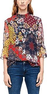 s.Oliver RED Label 女士雪纺衬衫带花卉图案