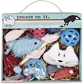 Cat Is Good 12 件橡皮泥玩具礼盒 – Pounce on It 各种玩具让猫和猫咪*娱乐