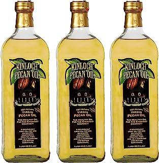 Kinloch Plantation Products Pecan Oil, Three (3) 1000 ML Bottles