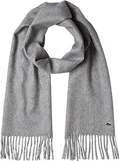 LACOSTE [官方] 素色羊毛围巾 男士 MSM2072