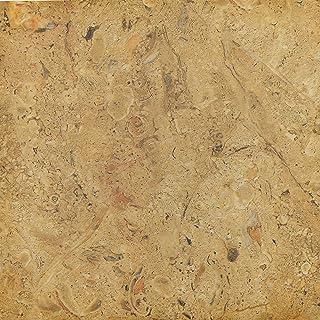 AUXUA 乙烯基地板即剥即贴后挡板瓷砖适用于厨房柜台顶乙烯基家具橱柜衣柜搁板,1 包 24 个