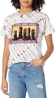 Obey 女式短袖扎染定制盒子 T 恤