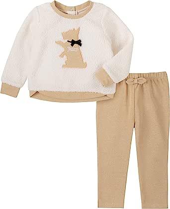 Juicy Couture 橘滋 女童 2 件套长裤套装