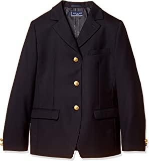 [橄榄木 学校 ] 橄榄橄榄橄榄木 3键单层皮革(女用)[藏青] JL705-88