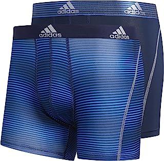 adidas 阿迪达斯男式运动性能 Climalite 平角内裤(2 条装)