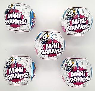 Zuru 5 惊喜迷你品牌收藏胶囊球 - 5 球包