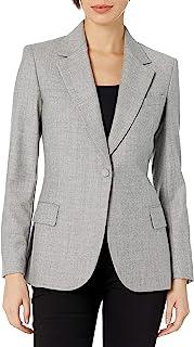 Theory 女式修身外套时尚法兰绒