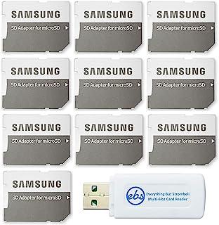 三星Micro to SD 存储卡适配器(散装 10 件装)随附 (1) Everything But Stromboli Micro & SD 读卡器