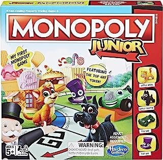Hasbro 孩之宝 Monopoly 青少年棋盘游戏,适合 5 岁及以上儿童