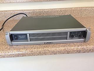 """QSC PLX 1802轻质功率放大器 PLX2 -""""02"""" Models"""