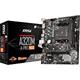 MSI ProSeries AMD A320 *代,*二代,*三代 Ryzen 兼容 AM4 DDR4 HDMI DVI…