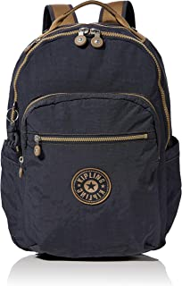 Kipling 凯浦林 基础款学生背包,44 厘米 Grey (Night Grey Bl) Grey (Night Grey Bl)
