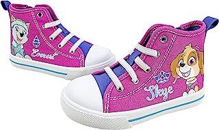 Paw Patrol 狗狗巡逻队幼儿鞋,高帮运动鞋拉链封口,幼童尺码 6 至 11