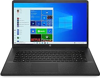 HP 惠普 17-cp0012ng (17.3英寸 / HD+)笔记本电脑(AMD Athlon 3150U,8GB DDR4 内存,256GB 固态硬盘,AMD 显卡,Windows 10,QWERTZ 布局)黑色