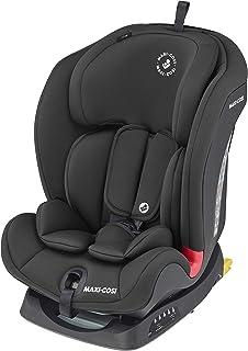 Maxi-Cosi Titan 幼儿/儿童汽车座椅Group 1-2-3,可转换多级前向,倾斜 ISOFIX 汽车座椅,9 个月 - 12 岁,黑色