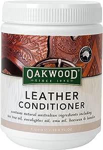 OAKWOOD 皮革护发素 - 1 千克,透明,男女皆宜