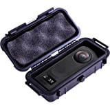 Casematix 7 英寸防水 360 动作相机保护套兼容Ricoh Theta Z1 360 度相机