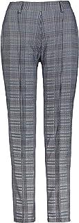 GINA LAURA 女士 7/8 长裤 Julia,方格,舒适腰带,窄腿 750912