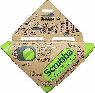 Scrubba 便携式服装洗包(2017型号)–适用于旅行,野营,远足和清洁洗衣 Anywhere