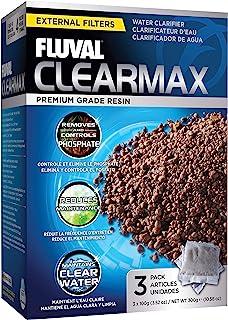 Fluval Clearmax 磷酸盐去除剂,3.5 盎司 - 3 件装