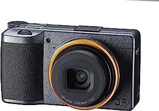 Ricoh 理光 GR III 街头版金属灰色 APS-C 尺寸数码相机,带大型 CMOS 传感器 GR 镜头,可实现高分辨率和高对比度,配有 4 步图像稳定高速 H