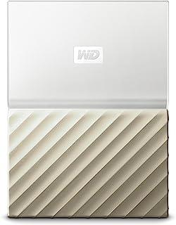 Western Digital 便携式硬盘 My Passport Ultra 4 TB 白色/金色