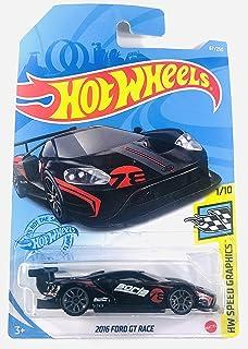 Hot Wheels 2021 - 2016 Ford GT Race - 黑色 - Borla - 速度图形 1/10 - 67/250